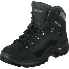 Lowa Renegade GTX Mid Shoes Men black/stone